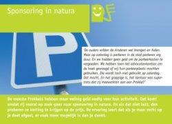 sponsoring in natura