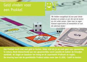 Geld vinden voor je Prokkel