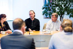 Den Haag, 3 juni 2015. Prikkelstage op ministerie van Sociale Zaken in Den Haag. FOTO MINSZW/VALERIE KUYPERS