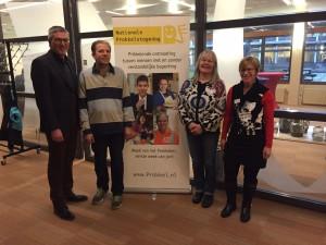 ambassadeurs met gedeputeerde Drenthe
