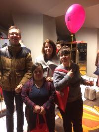 Deelnemers van de Zeddamseweg uit 's Heerenberg: Bram Frauenfelder, Mara Lisa Ruytinx, Heleen Ketelaar en Sharon Alverink