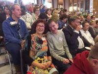 Ingrid Wolsing, wethouder gemeente Montferland met Tom Overkamp
