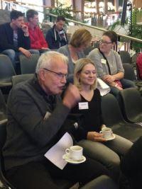 Bert Tenkink en Jaël Gunsing, individueel trajectbegeleider bij Rijks Justitiële Jeugdinrichting De Hunnerberg